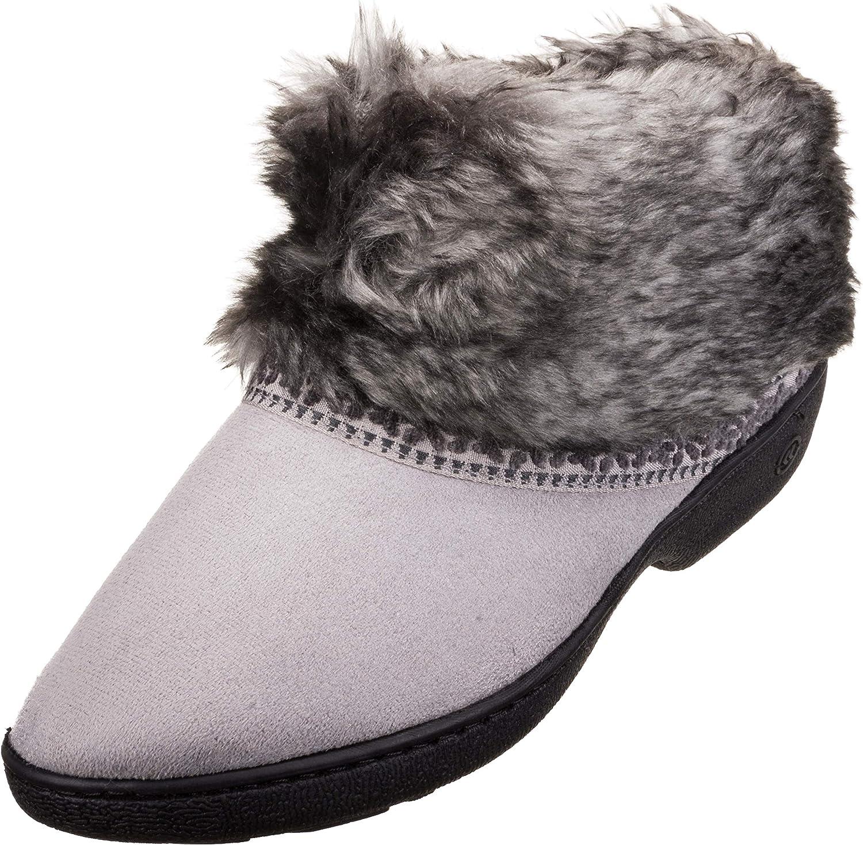 Isotoner Womens Microsuede Basil Boot
