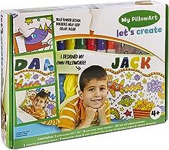 Let's Create Personalized Pillow Cover! DIY Pillowcase Art Kit for Kids (Standard), Perfect Art kit for Kids