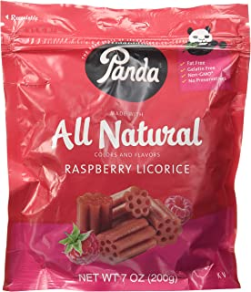 panda strawberry licorice