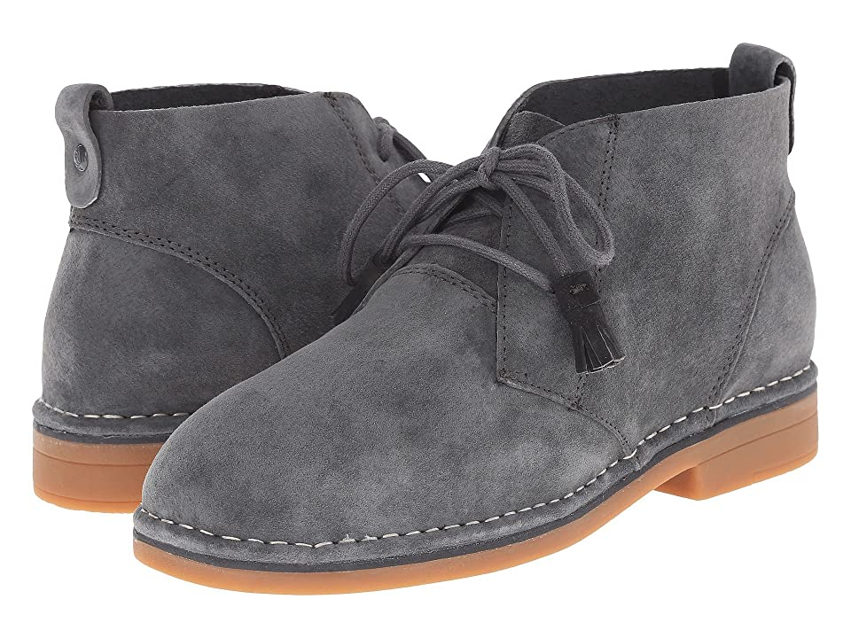 Hush Puppies Cyra Catelyn (Dark Grey Suede) Women