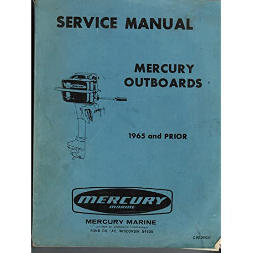 mercury outboard service manual cd
