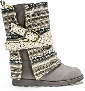 Muk Luks Women`s Nikki Belt Wrapped Boot