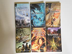 Young Wizards Series Collection: So You Want To Be A Wizard,Deep Wizardry,High Wizardry,A Wizard Abroad,The Wizard's Dilem...
