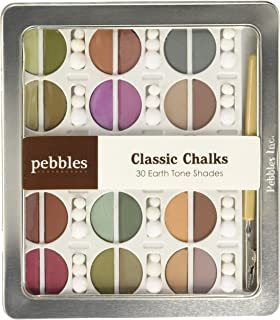 Pebbles, Classic Chalks - 30 Earth Tone Shades