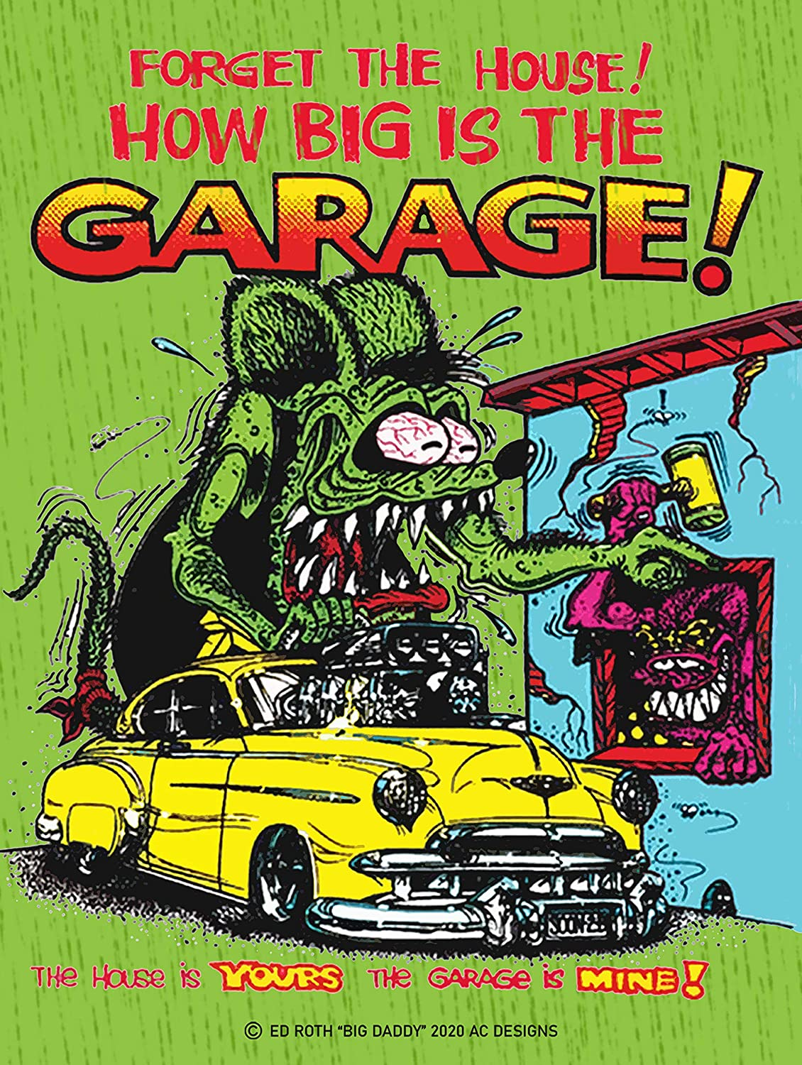 Mesa Mall American Collectibles Rat Fink Indefinitely Forget The by Bid Daddy Garage RF