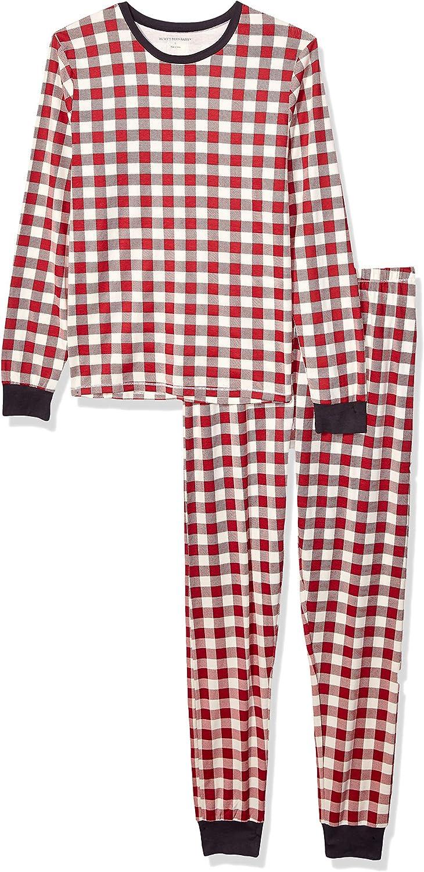 Burt's Bees Baby Baby Girls' Family Jammies, Matching Holiday Pajamas, Organic Cotton Pjs