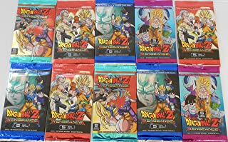 10 Packs Dragon Ball Z Vengeance 2016 Trading Cards Pack bundle [5 cards per pack]