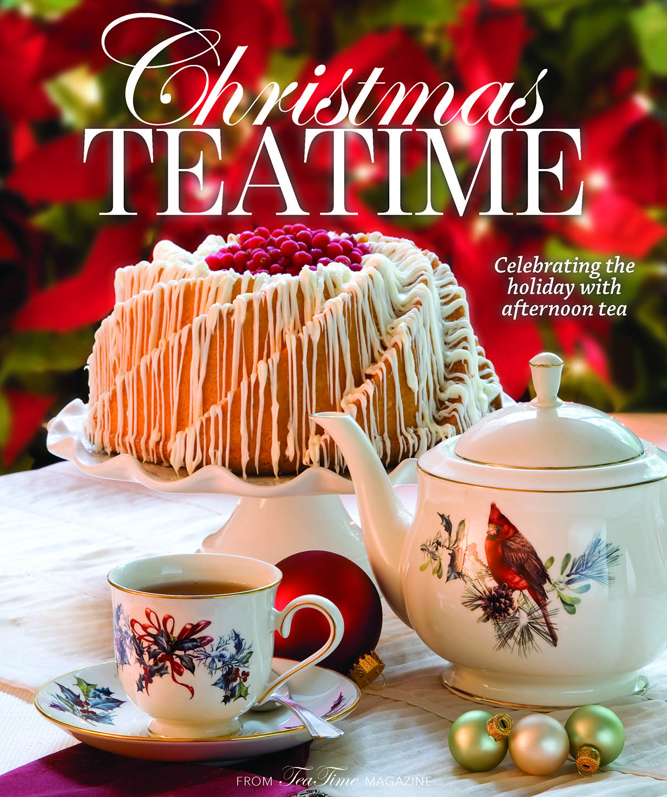 Image OfChristmas Teatime: Celebrating The Holiday With Afternoon Tea