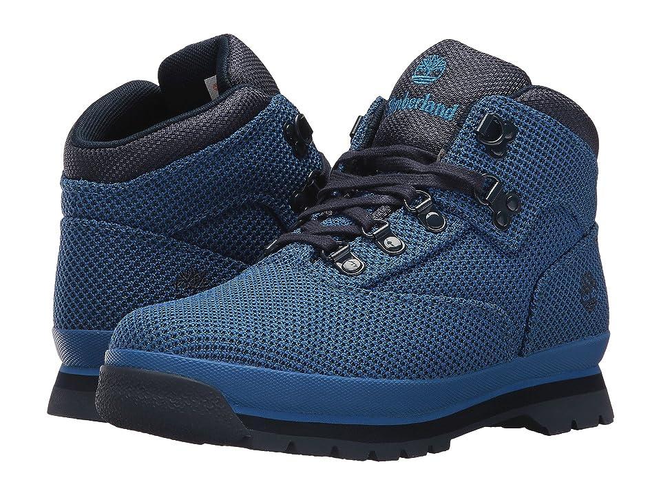 Timberland Kids Fabric Euro Hiker (Big Kid) (Nebulas Blue) Kids Shoes