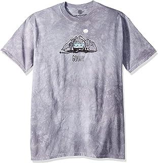 The Mountain Mens Go Away Van Short Sleeve T-Shirt - Gray