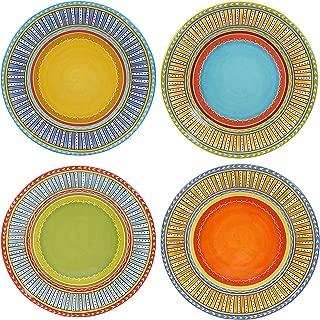 Certified International Valencia Dinner Plates (Set of 4), 11.25