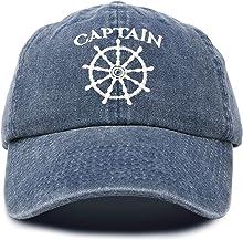 DALIX Captain Hat Sailing Baseball Cap Navy Gift Boating Men Women Vintage