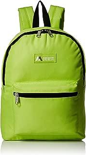 lime green mini backpack