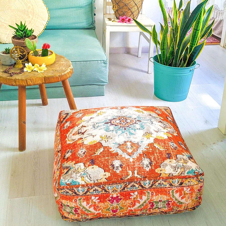 Mandala Life ART Bohemian Yoga Max 58% OFF Décor Floor Japan Maker New 24 - Cover Cushion