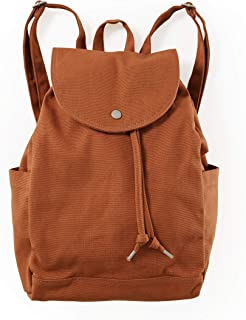 BAGGU Drawstring Backpack, Durable and Stylish For Daily Essentials, Umber