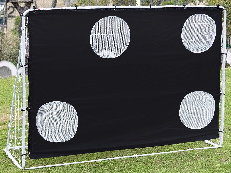 Ubon 3 in 1 Soccer Rebounder Net Soccer Taregt Goal for Backyard Practice Training