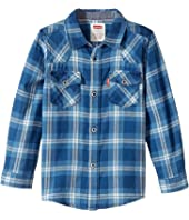 Levi's® Kids - Barstow Western Plaid Shirt (Little Kids)