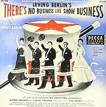 THERE'S NO BUSINESS LIKE SHOW BUSINESS (ORIGINAL SOUNDTRACK LP VINYL, IMPORT, 1974 LTD REISSUE)