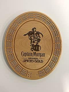Captain Morgan Cribbage Board