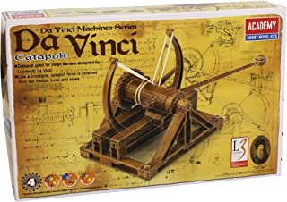 Academy 18137 Davinci Catapult Machine Model Kit