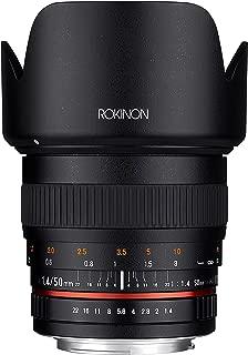 Rokinon 50mm f1. 4レンズ