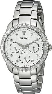 Bulova Women's 36mm Stainless Steel Diamond Watch