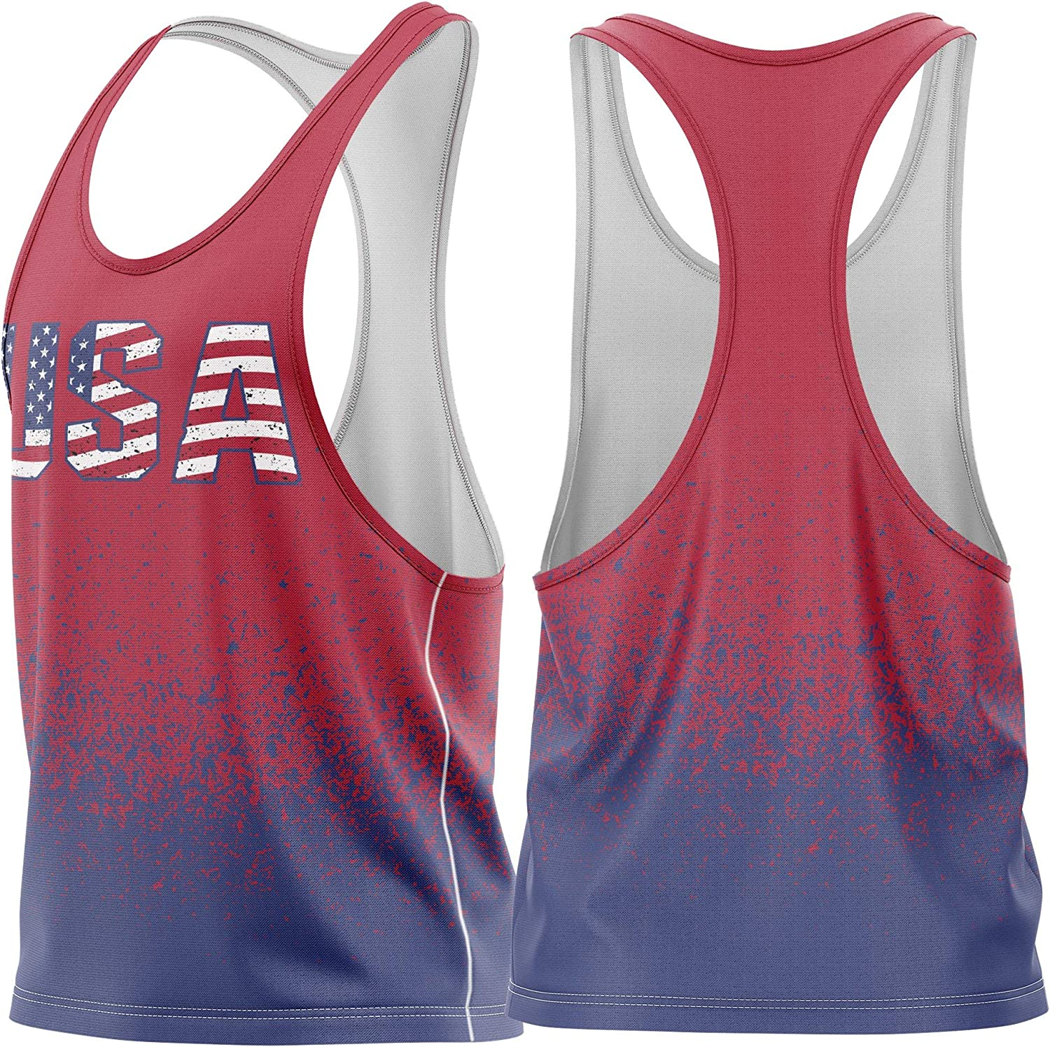 MyProtein Tank Top Stringer Tank Top Men/'s Muscle Shirt Training Clothes
