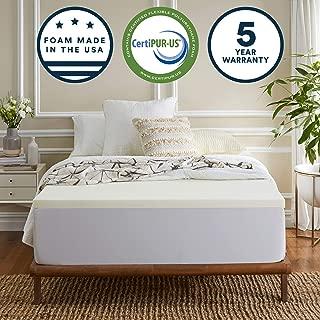 Best 1/2 inch memory foam mattress topper Reviews