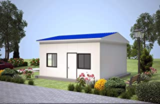 China manufacturer flat pack prefab houses easy assemble