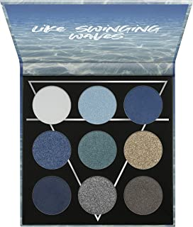 essence   WATER Eyeshadow Palette   9 Blendable Cool-toned Shades   Gluten & Paraben Free   Cruelty Free