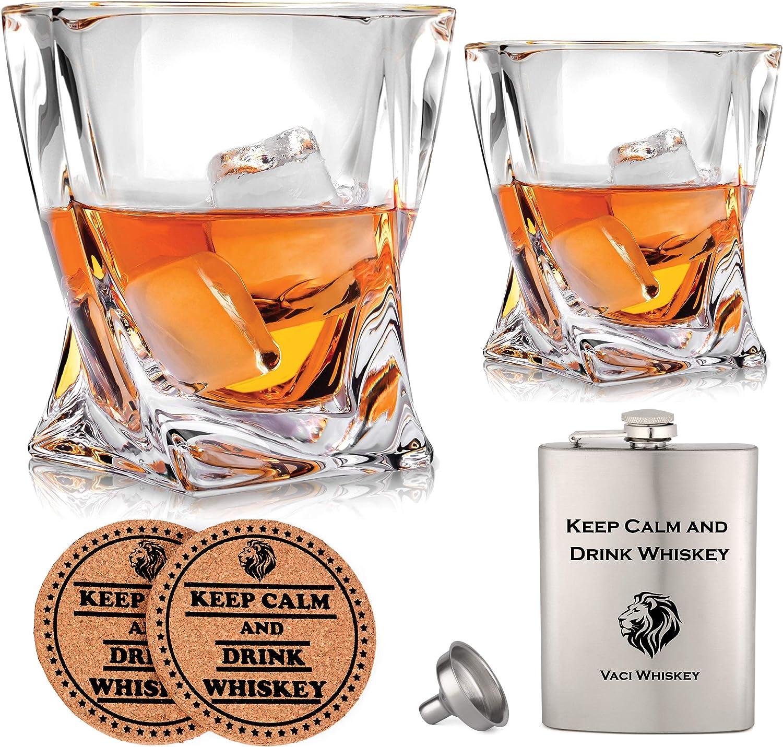 Vaci Crystal Whiskey Glasses – Set Bourbon Cheap bargain 2 Tu of Soldering