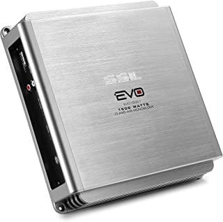 Sound Storm EVO1500.1 EVO 1500 Watt, 2 Ohm Stable Class A/B, Monoblock, MOSFET Car Amplifier with Remote Subwoofer Control