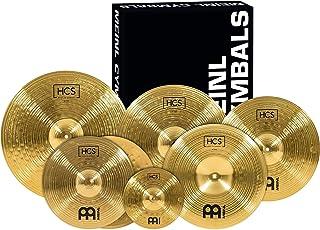 """Meinl Cymbals Super Set Box Pack with 14"""" Hihats, 20"""" Ride, 16"""" Crash, 18"""" Crash,.."""