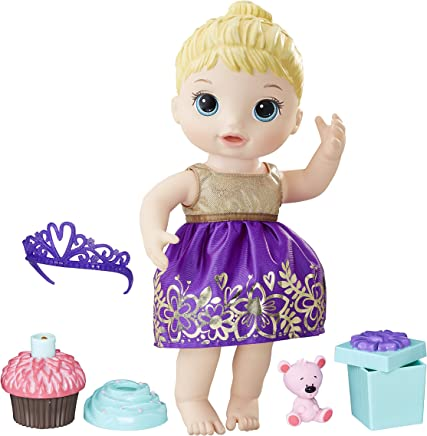 Boneca Baby Alive Festa Surpresa, Hasbro, Loira