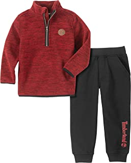 Timberland Baby Boys 2 Pieces Pullover Pants Set