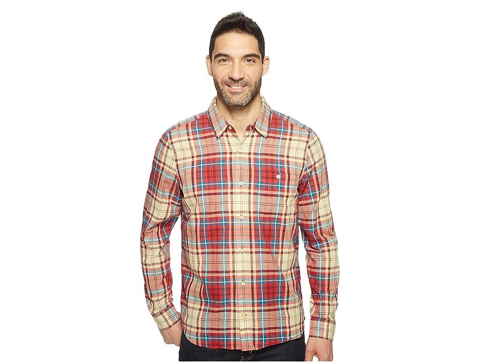 Toad&Co Cuba Libre L/S Shirt (Frigate Red) Men