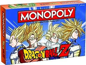 MONOPOLY Dragon Ball Z Board Game   Recruit Legendary Warriors GOKU, VEGETA and GOHAN   Official Dragon Ball Z Anime Series Merchandise   Themed Monopoly Game