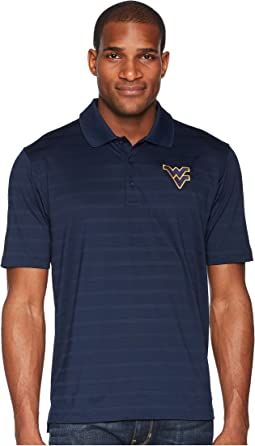 West Virginia Mountaineers Textured Solid Polo