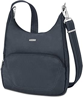 Anti-Theft Classic Essential Messenger Bag, Midnight, One Size