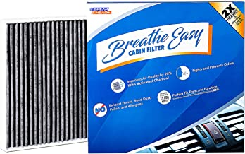 Spearhead Premium Breathe Easy Cabin Filter, Up to 25% Longer Life w/Activated Carbon (BE-920)