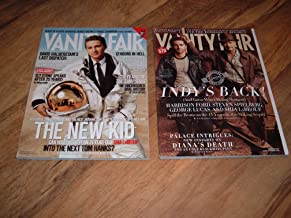 Shia LaBeouf-Disturbia, Transformers and Indiana Jones-2 Vanity Fair Magazines-August 2007 and February 2008 issues-Both m...