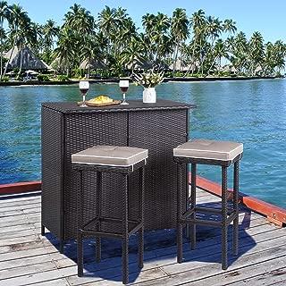 Best wicker outdoor bar furniture Reviews