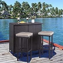 Best rattan garden furniture bistro set Reviews