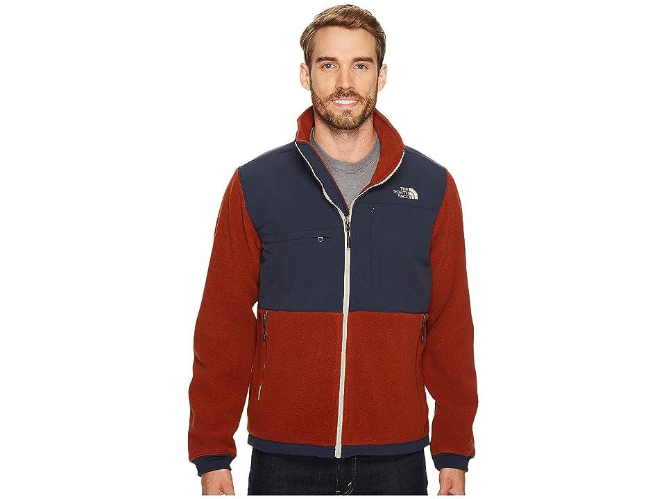The North Face Denali 2 Jacket (Recycled Brandy Brown/Urban Navy) Men