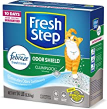 Fresh Step Odor Shield Scented Litter with The Power of...