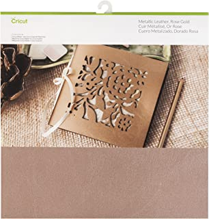 Cricut Leather Decor, 12X12, Rose Gold