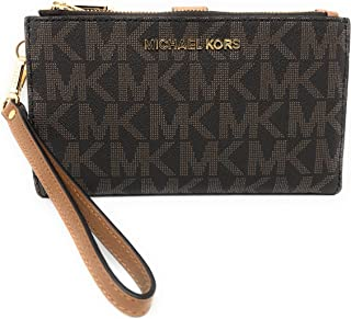 Michael Kors Jet Set Travel double Zip Wristlet 08bd202d7cdac