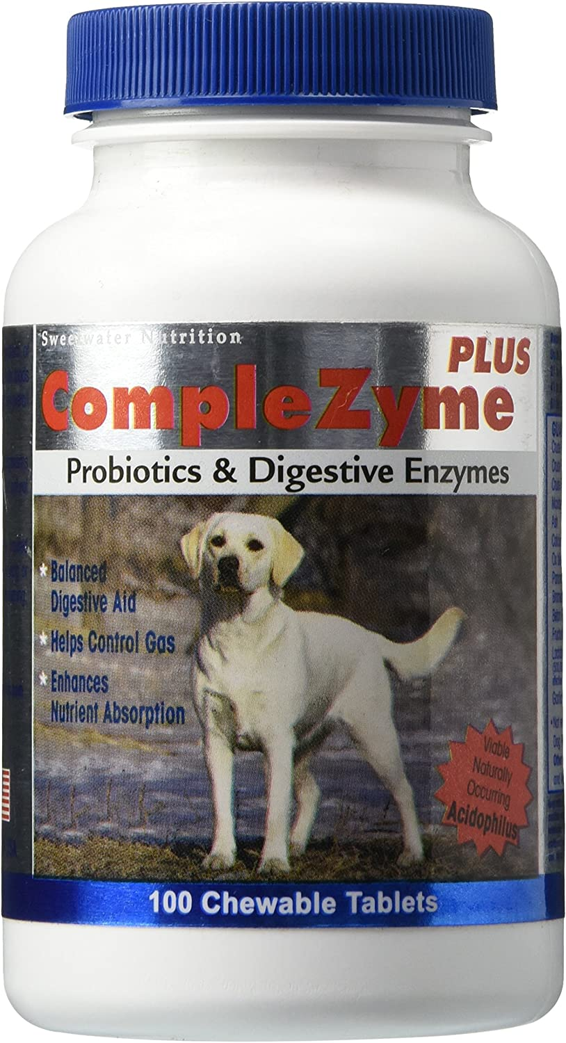 CompleZyme Digestive Aid Formula for Dogs  100 Chewable tablets