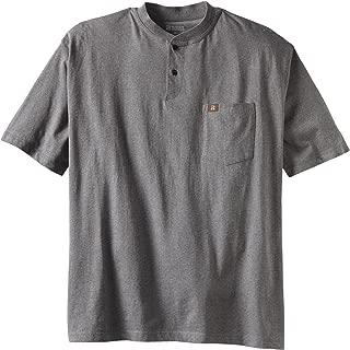 Men's Short Sleeve Henley Tee