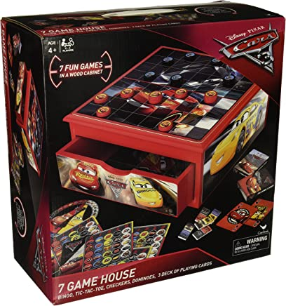 Cardinal Industries Cars 3 Wooden House Game